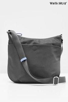 White Stuff Grey Willow Nylon Cross-Body Bag