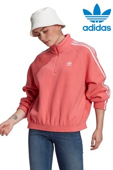 adidas Originals Fleece 1/2 Zip Hoodie