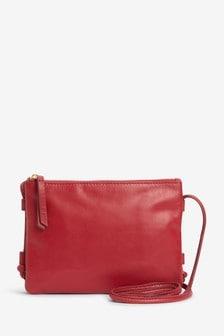 Leather Across Body Bag