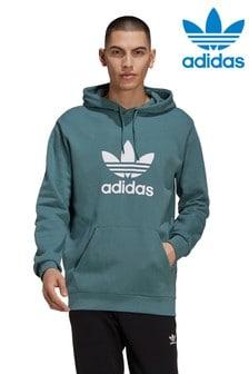 adidas Originals三葉草套頭連帽上衣