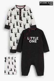 حزمة من2 ملابس نوم قطن عضوي للصغار منMyleene Klass