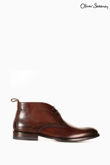 Oliver Sweeney Farleton Leather Chukka Boots
