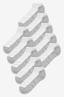 Набор из десяти пар спортивных носков с уплотненными вставками
