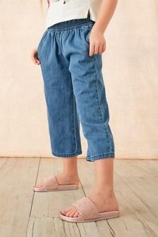 Jupe-culotte avec chouchou (3-16 ans)