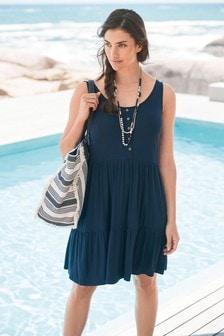 多層次夏日連衣裙
