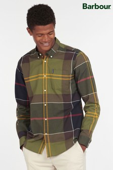 Barbour® Sutherland方格圖案襯衫