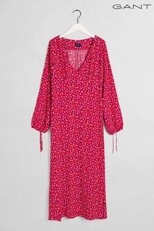 GANT Pink Desert Rose Midi Dress