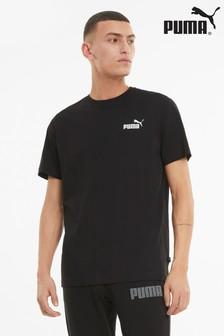 Puma Black Essentials Logo T-Shirt