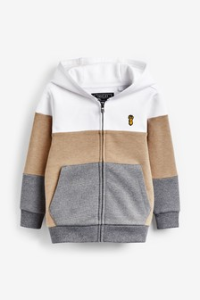 Colourblock Zip Through Hoody (3-16yrs)