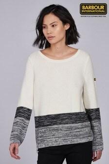 סוודר שלBarbour® International דגםThunderbolt בשילוב צבעים