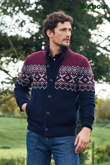 Barbour® Kirk Button Through Jumper