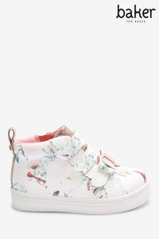 Baker by Ted Baker High Top White Trainers