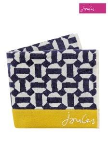 Joules Handtücher mit geometrischem Wabenmuster