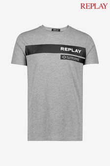 Replay® Print Logo T-Shirt