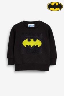 Топ с круглым вырезом и пайетками Batman® Superman  (9 мес. - 8 лет)