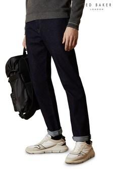 Ted Baker - Orboi Original Fit jeans met donkere wassing