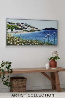 Artist Collection Seascape by Janet Bell Canvas