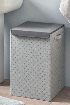 Pojemnik na bieliznę w drukowane gwiazdki