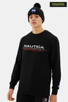 Nautica Competition Black Collier Sweatshirt