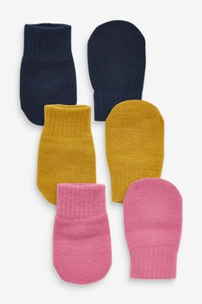 3 Pack Mittens (Younger)