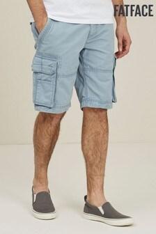 FatFace Chambray Breakyard Cargo Shorts
