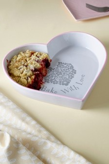 Heart Shaped Pie Dish