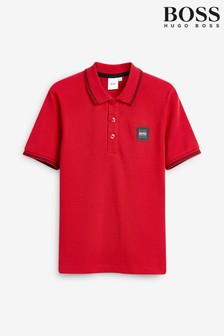 BOSS Red Logo Poloshirt