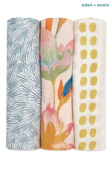 aden + anais™ Marine Gardens Large Swaddles Three Pack