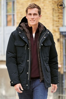 Shower Resistant Jacket With Quilted Liner (278613)   $152