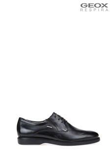 Geox Mens Brayden Black Shoes