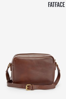 FatFace Brown Marley Plain Cross Body Bag
