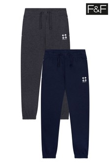 F&F Multi Joggers Two Pack