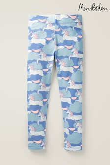 Boden Blue Fun Leggings