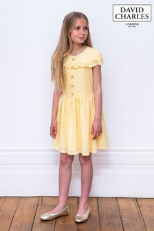 David Charles Yellow Special Dress