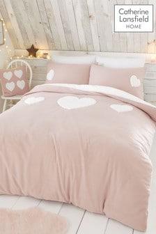 Catherine Lansfeld kuschelige So Soft Kissen- und Bettbezug aus Fleece