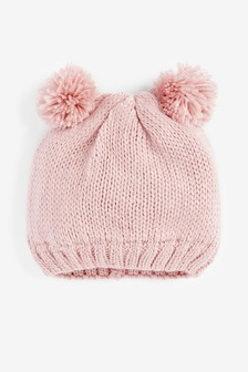 Double Pom Beanie (Younger)