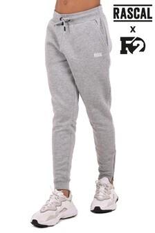 Серые базовые меланжевые спортивные брюки Rascal (для мальчиков)
