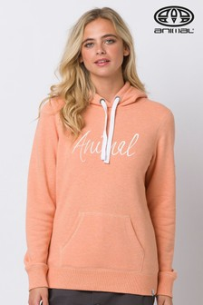 Animal Orange Sketched Hoody