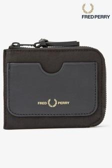 Portefeuille zippé Fred Perry