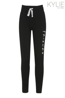 Kylie Friends Jogginghose, Schwarz
