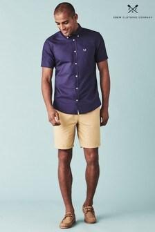 Crew Clothing Natural Bermuda Shorts