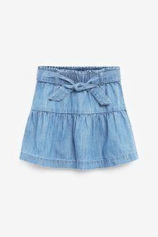 חצאית עם קשירה במותניים (3 חודשים עד גיל 10)