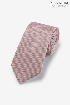 Signature Textured Silk Tie