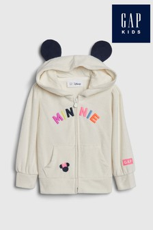 Bluza z kapturem zapinana na suwak Gap Minnie Mouse