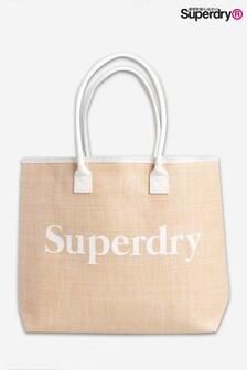 Sac fourre-tout en jute Superdry Darcy