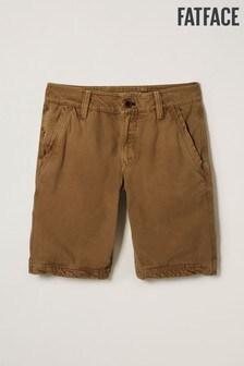 FatFace Cove Shorts ohne Bundfalte, steingrau