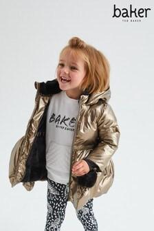 Baker By Ted Baker Bronze Heatseal Coat (280377)   $83 - $87