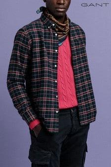 Gant Red Flannel Check Regular Shirt