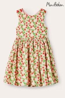 Boden Kleid mit überkreuzter Rückseite, Pink