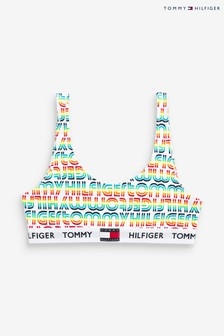 Tommy Hilfiger Yellow Rainbow Pop Bralette
